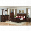 Picket House Furnishings Gavin 6 Piece King Bedroom Set in Cherry