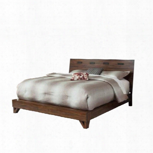 Coaster Yorkshire California King Bed In Dark Amber And Coffee Bean