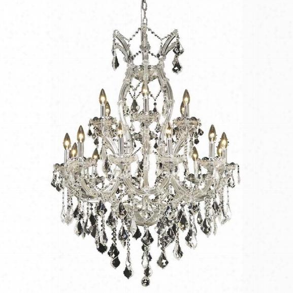 Elegant Lighting Maria Theresa 32 19 Light Spectra Crystal Chandelier