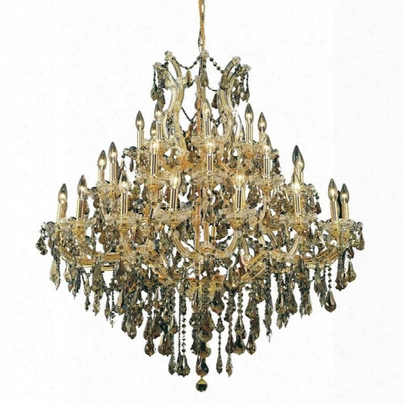 Elegant Lighting Maria Theresa 37 Light Elements Crystal Chandelier