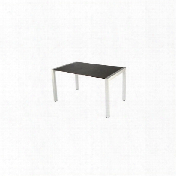 Eurostyle Delroy Casual Dining Table In Wenge