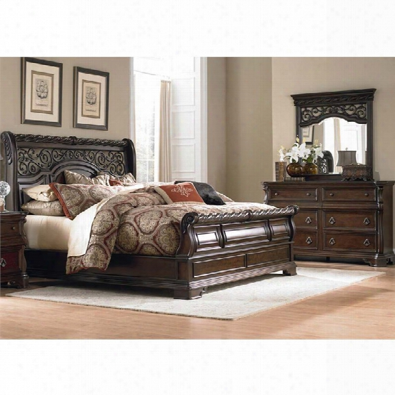 Liberty Furniture Arbor Place 3 Piece Queen Sleigh Bedroom Set