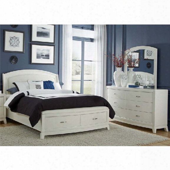 Liberty Furniture Avalon Ii 3 Piece Queen Storage Panel Bedroom Set