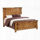 Coaster Brenner California King Panel Bed in Natural and Honey