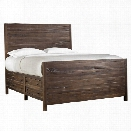 Modus Townsend King Solid Wood Storage Bed in Java