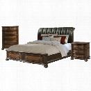 Picket House Furnishings Pentos 3 Piece Queen Storage Bedroom Set