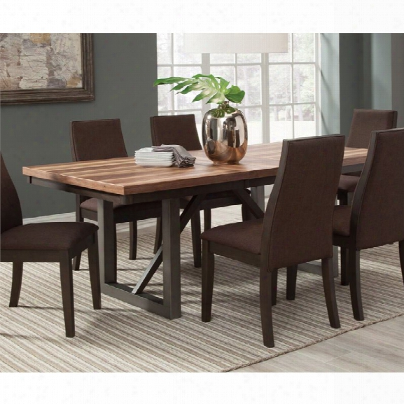 Coaster Dining Table In Espresso