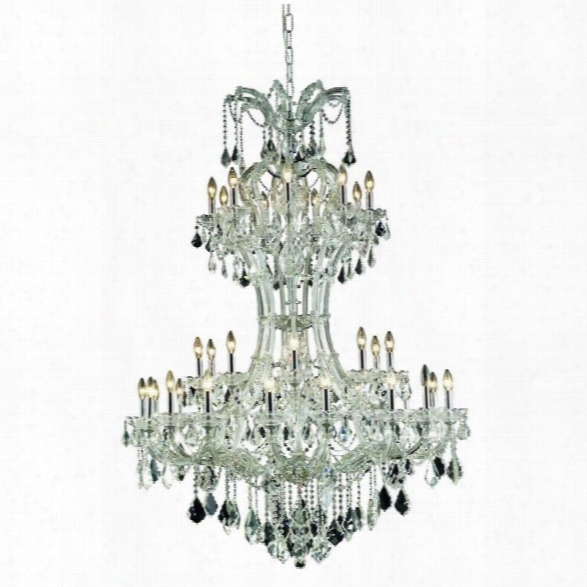 Elegant Lighting Maria Theresa 46 36 Light Elegant Crystal Chandelier