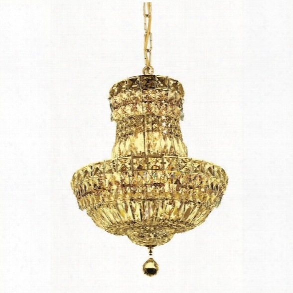 Elegant Lighting Tranquil 14 6 Light Elements Crystal Chandelier