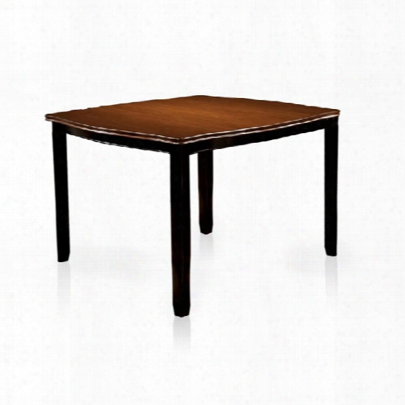 Furniture Of America Delila Extendable Counter Height Dining Table