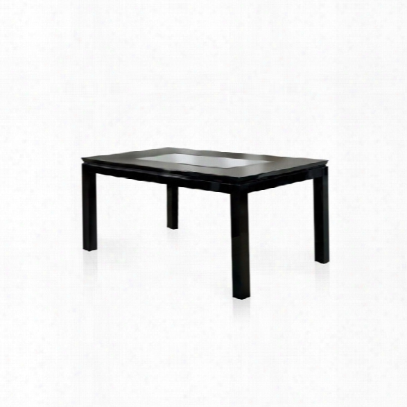 Furniture Of America Nosbisch Dining Table In Black