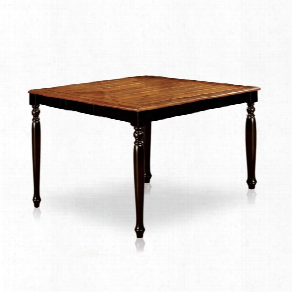 Furniture Of America Sallie Extendable Counter Height Dining Table