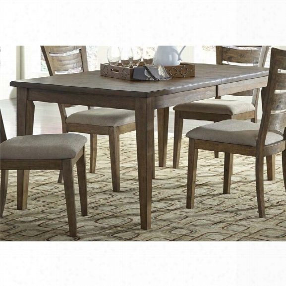 Liberty Furniture Pebble Creek I Idning Table In Butterscotch