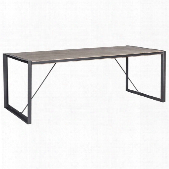 Moe's Bronx Dining Table In Light Brown
