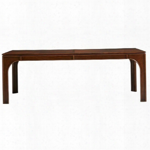 Stanley Havana Crossing Concordia Dining Table In Colonial Mahogany
