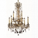 Elegant Lighting Rosalia 23 9 Light Elements Crystal Chandelier