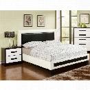 Furniture of America Retticker 2 Piece King Panel Bedroom Set