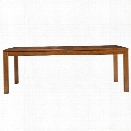 Stanley Furniture Panavista Archetype Dining Table in Goldenrod