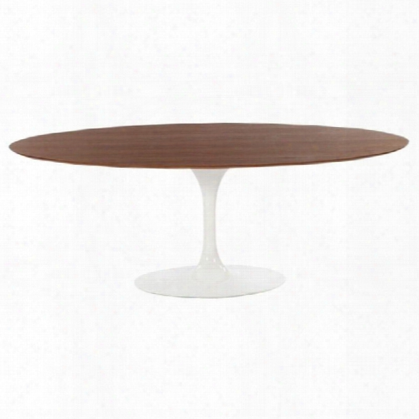 Aeon Furniture Catalan Oval Dining Table In Rosewood