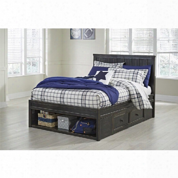 Ashley Jaysom Full Storage Bed In Black