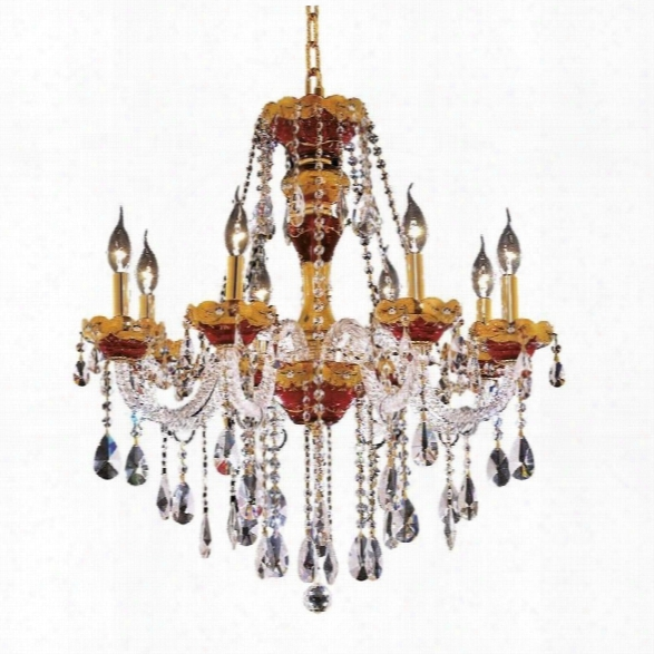 Elegant Lighting Alexandria 26 8 Light Elegant Crystal Chandelier