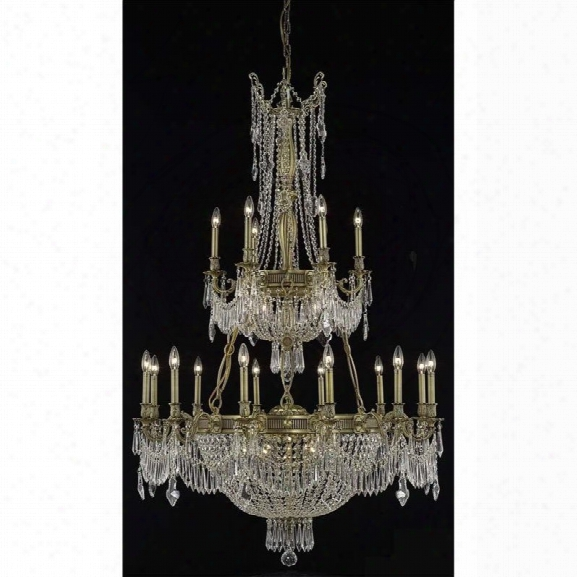 Elegant Lighting Esperanza 41 27 Light Elements Crystal Chandelier