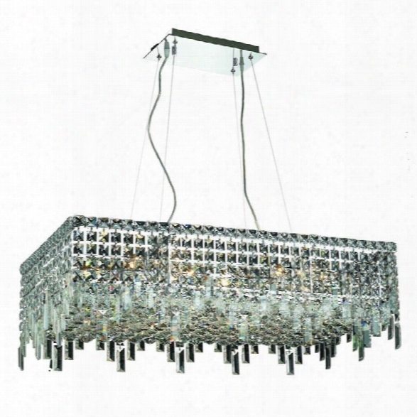 Elegant Lighting Maxime 16 16 Light Elements Crystal Chandelier