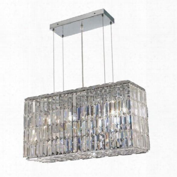 Elegant Lighting Maxime 26 8 Light Elements Crystal Chandelier