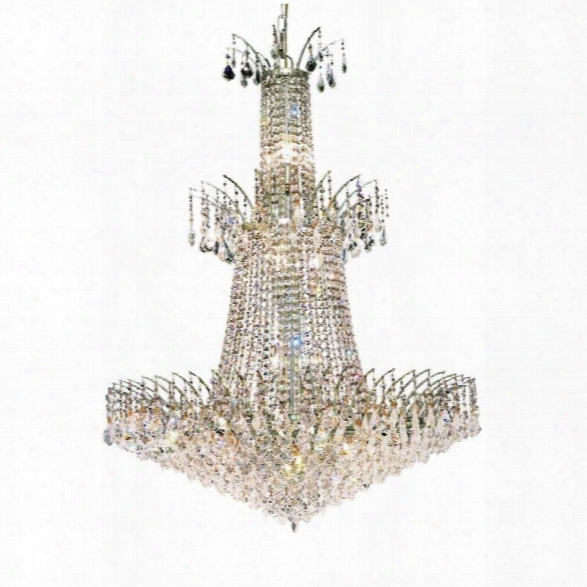 Elegant Lighting Victoria 32 18 Light Royal Crystal Chandelier