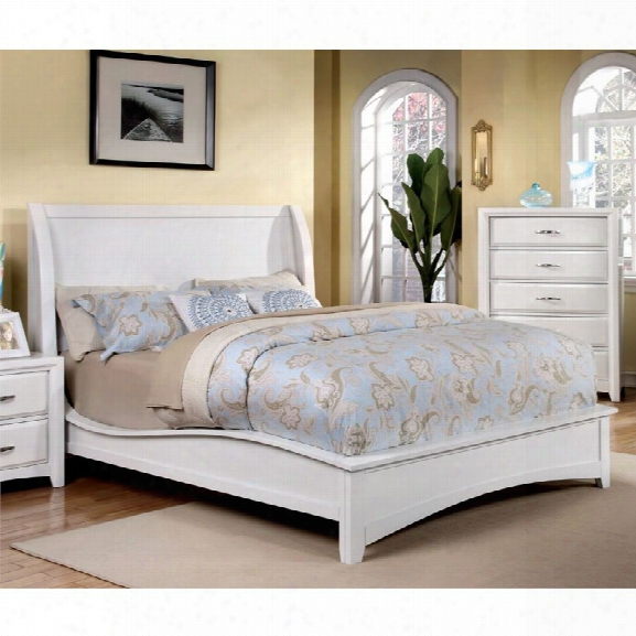 Furniture Of America Skye California King Panel Bed In White