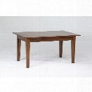 A-America Toluca Extendable Dining Table in Rustic Amber