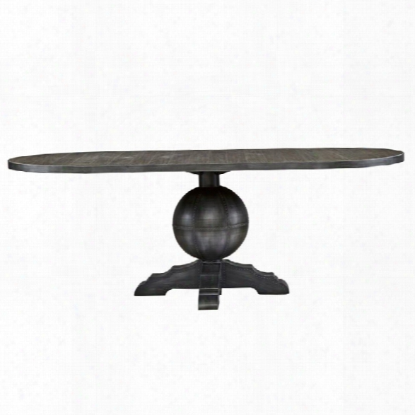 Universal Furniture Curated Rutledge Dining Table In Graystone