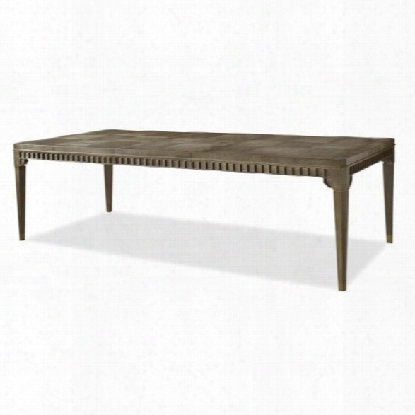 Universal Furniture Playlist Encore Dining Table In Brown Eyed Girl