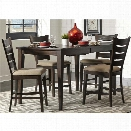 Liberty Furniture Pebble Creek II 5 Piece Counter Height Dining Set