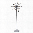 Nuevo Sputnik 24 Light Floor Lamp in Silver