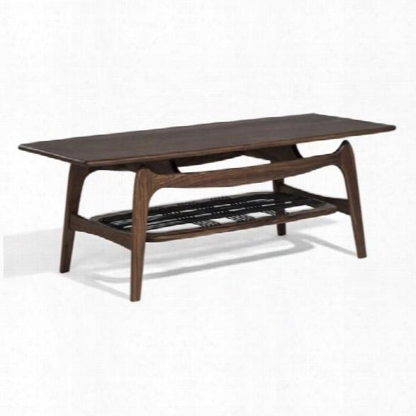Aeon Furniture Michelle Coffee Table In Walnut