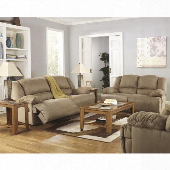 Ashley Hogan 3 Piece Sofa Set In Mocha
