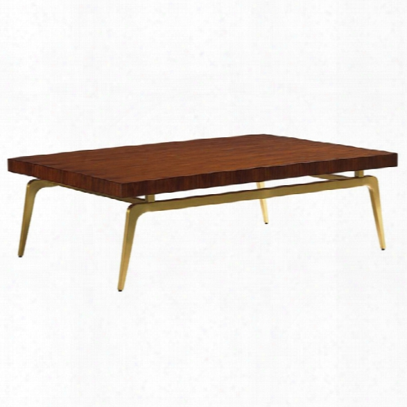 Lexington Take Five Bryant Park Coffee Table In Rosewood