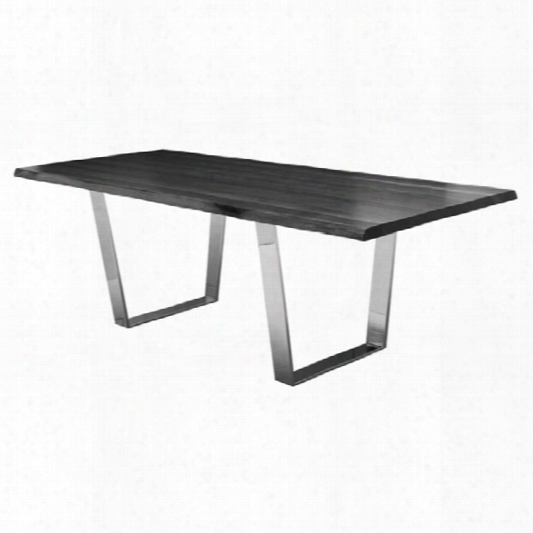 Nuevo Versailles Dining Table In Oxidized Gray