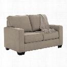 Ashley Zeb Twin Sleeper Sofa in Quartz