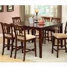 Furniture of America Murphiree Extendable Counter Height Dining Table