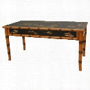 Oriental Furniture Ching Coffee Table in Black