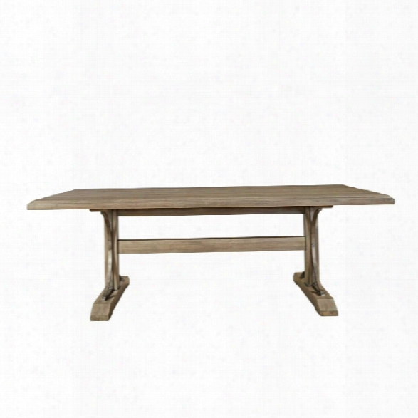 Universal Furniture Authenticity Oxford Street Dining Table In Khaki