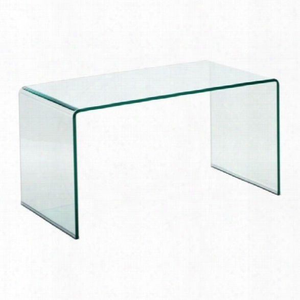 Zuo Course Glass Coffee Table
