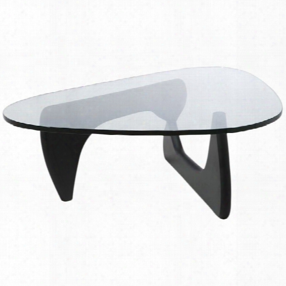 Aeon Furniture Tokyo Coffee Table In Black And Clear