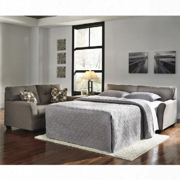 Ashley Tibbee Full Sleeper Sofa In Slate