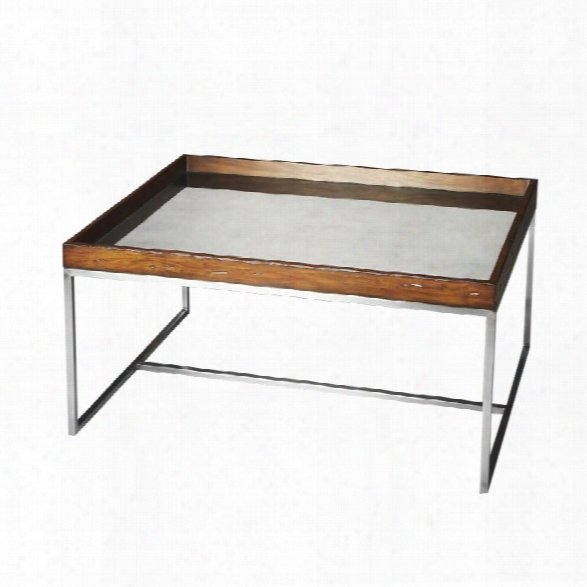 Butler Specialty Butler Loft Eastwood Mirrored Coffee Table