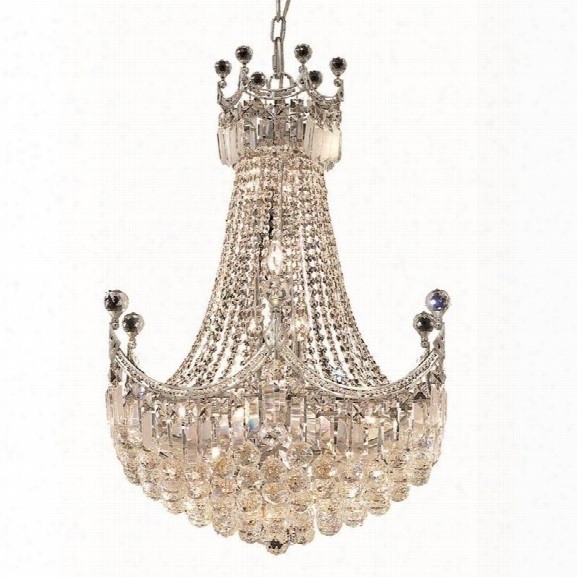 Elegant Lighting Corona 24 18 Light Elegant Crystal Chandelier