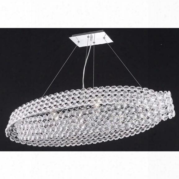 Elegant Lighting Electron 12 6 Light Elegant Crystal Chandelier