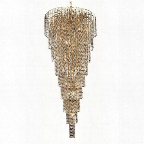 Elegant Lighting Falls 30 15 Light Elements Crystal Chandelier